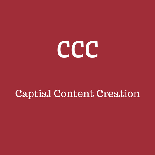Capital Content Creation